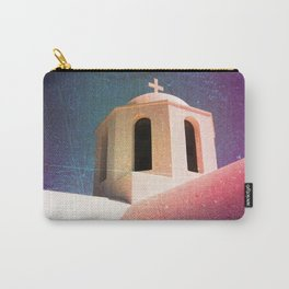 Greek Building Burnt Carry-All Pouch