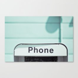 Retro Phone Canvas Print