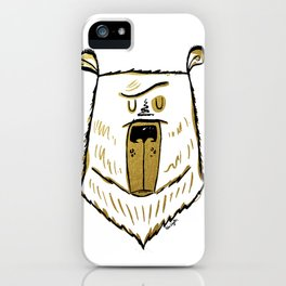 The Golden Bear iPhone Case
