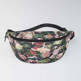 Floral and Pin Up Girls Pattern Fanny Pack