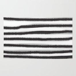 Fuzzy Stripes Rug