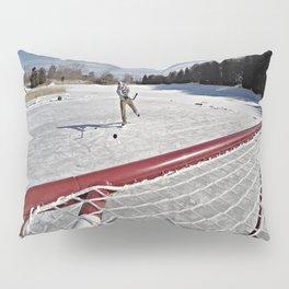 Pond Hockey Pillow Sham