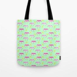 Lightning Zebras Tote Bag