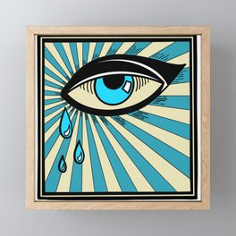 Tears Framed Mini Art Print