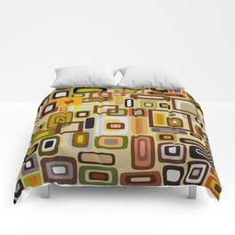 Abstract Composition 663 Comforters