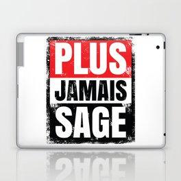Plus Jamais Sage Laptop & iPad Skin
