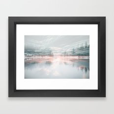 Fluid Glass Framed Art Print