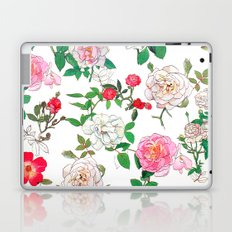 Pattern of vintage rose Laptop & iPad Skin
