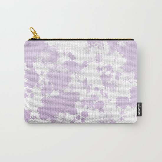Painted abstract minimal ombre painting charlotte winter canvas art Carry-All Pouch