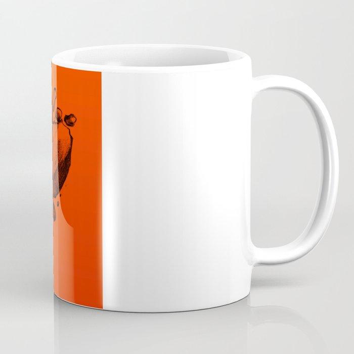 Old School Rocks (Orange Rock Version) Coffee Mug