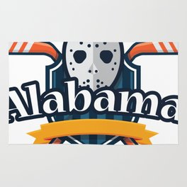 Alabama for Men Women and Kids Rug