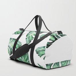 Tropical Banana Leaves 2 #society6 #buyart Duffle Bag