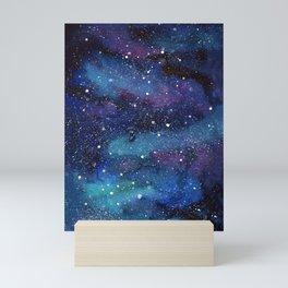 Galaxy Space Painting Stars Cosmic Universe Nebula Art Mini Art Print