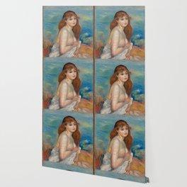 """Auguste Renoir """"Après le bain (Petite Baigneuse)"""" Wallpaper"""
