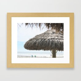 Seaside Paradise Framed Art Print