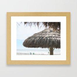 Seaside Paradise Framed Art Print
