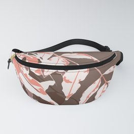Autumn vibes leaves Fanny Pack