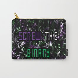 Screw The Binary Carry-All Pouch