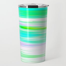 Another Day At The Beach Oil Painting Travel Mug