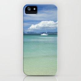 Tropical Paradise Landscape iPhone Case
