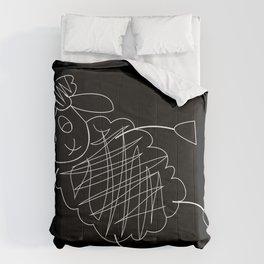 CHALKBOARD SHEEP Comforters