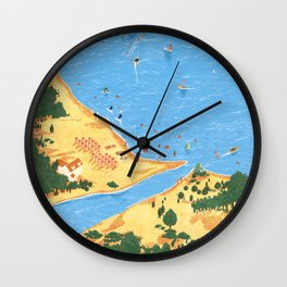 Travel Posters - Algarve Wall Clock