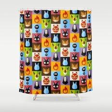 Miyazaki's Shower Curtain