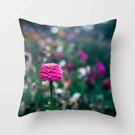 One flower to please them all Throw Pillow