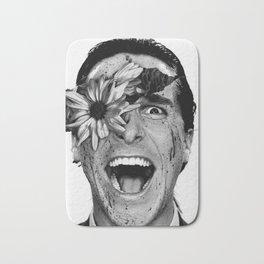 Psycho Flower Bath Mat