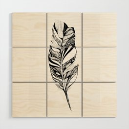 Feather - Lucidity Wood Wall Art