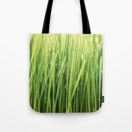 Green Green Grass Tote Bag