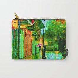 Pirate's Alley, Green Carry-All Pouch