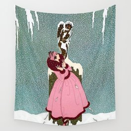 """The End of Romance"" Deco Design Wall Tapestry"