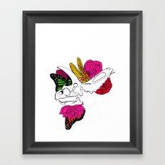 Dinosaur Skull II Framed Art Print