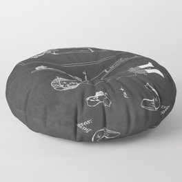 Toy Doll Patent 1884 Floor Pillow
