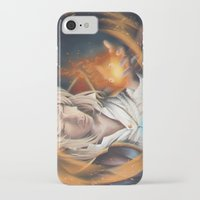 howl iPhone & iPod Cases featuring Howl by EliasLUGAS