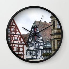 German fairy tale town Wall Clock