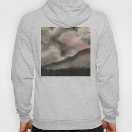 Monochromatic Winter Sky Hoody