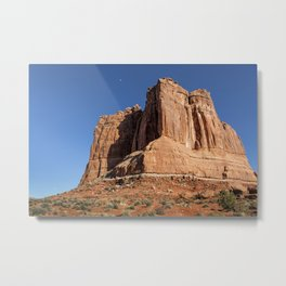 Courthouse Towers - Arches National Park Metal Print