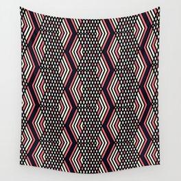 Zigzag pattern 2 Wall Tapestry