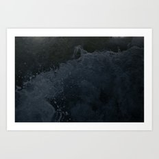 Acqua Nebulae 4 Art Print