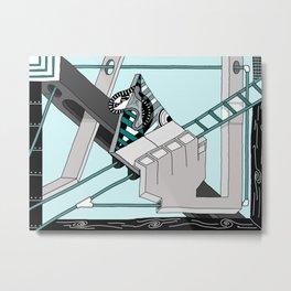 Triangle Slider Metal Print