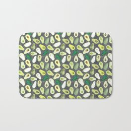 Avocados - Ash Grey Bath Mat