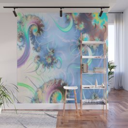 Blossoms and Breeze Wall Mural