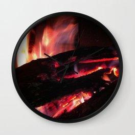 Bonfire2~takibi~ Wall Clock