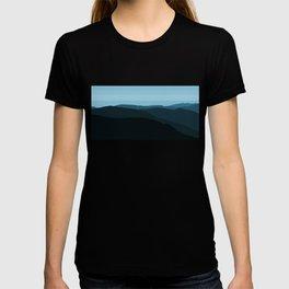 Blue Mountainscape T-shirt