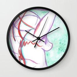 Pain Creeps In Wall Clock