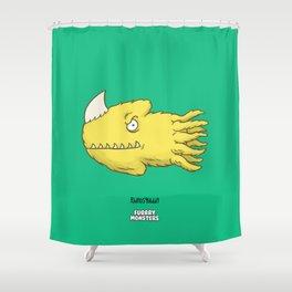 Rhinosquiddy Shower Curtain