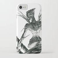spider iPhone & iPod Cases featuring Spider by Reddraws