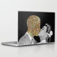 tumblr Laptop & iPad Skins featuring Gold Digging by Eugenia Loli